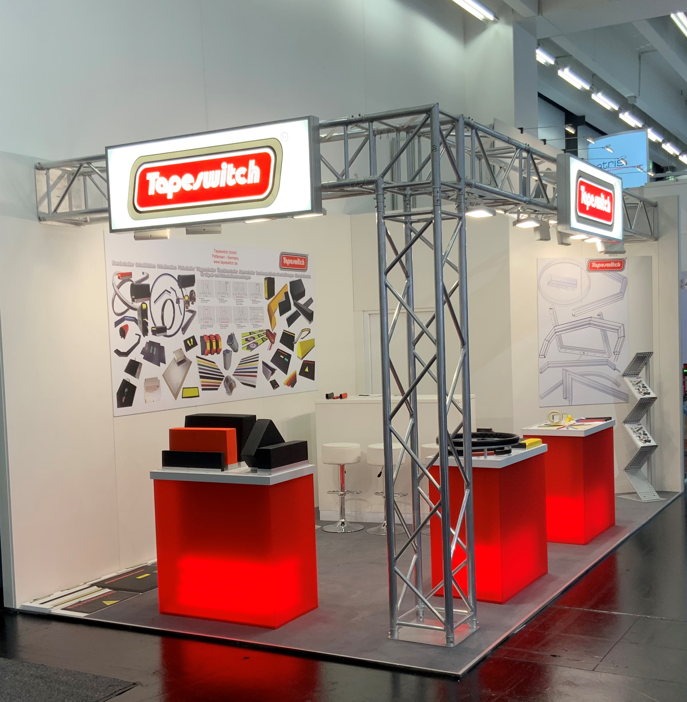 Tapeswitch Messe
